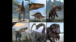 مجموعه مدل سه بعدی دایناسور All Dinasaurs