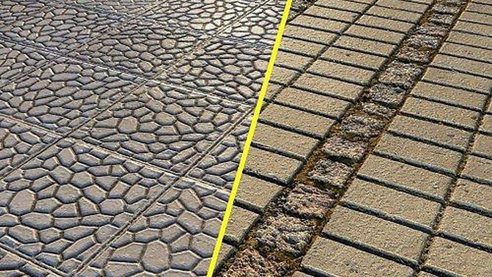 مجموعه تکسچر پیاده رو آجری Brick Pavement Textures