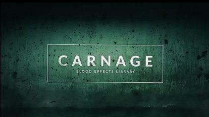 مجموعه فوتیج ویدیویی خون Carnage