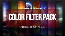 پروژه پریمیر مجموعه فیلتر رنگ Color Filter Pack