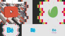 پروژه افترافکت نمایش لوگو سه بعدی شرکتی Company 3D Logo