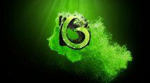 پروژه افترافکت نمایش لوگو پارتیکلی حماسی Epic Particles Logo