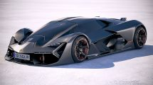 مدل سه بعدی خودرو لامبورگینی ترزو میلنیو Lamborghini Terzo Millennio