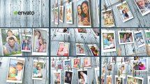 پروژه افترافکت اسلایدشو نمایش خاطرات Memories