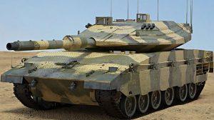 مدل سه بعدی تانک جنگی Merkava Mark IV