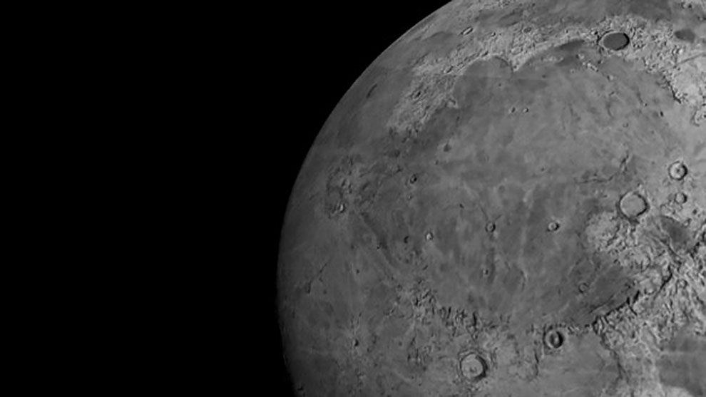 مدل سه بعدی واقعگرایانه ماه Moon