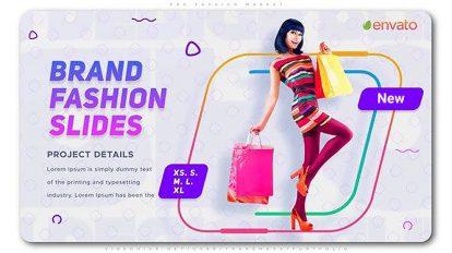 پروژه افترافکت تیزر تبلیغاتی فشن Pro Fashion Market