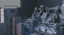 مجموعه مدل سه بعدی اجزا و قطعات Sci-Fi Dressing Kitbash Set 3