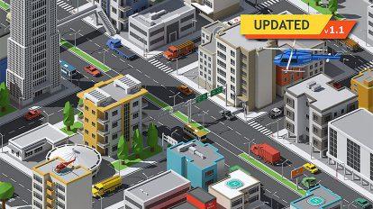 مجموعه مدل سه بعدی اجزای شهری SimplePoly Urban