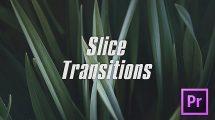 پروژه پریمیر مجموعه ترانزیشن برشی Slice Transitions