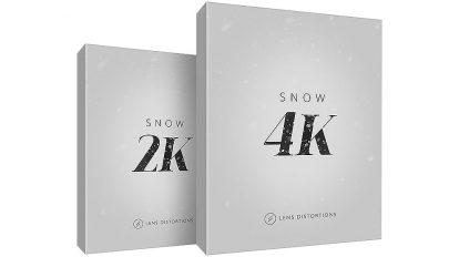 مجموعه فوتیج برف برای جلوه های ویژه Snow 4K