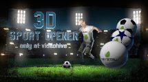 پروژه افترافکت افتتاحیه و نمایش لوگو فوتبالی Soccer Night