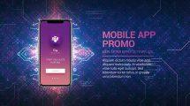 پروژه افترافکت تیزر تبلیغاتی اپلیکیشن Technology App Promo