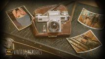 پروژه افترافکت اسلایدشو خاطرات قدیمی Vintage Memories