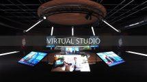 مدل سه بعدی استودیوی مجازی Virtual Studio