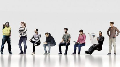 مجموعه مدل سه بعدی اسکن شده مردم Xoio 3D Scanned People
