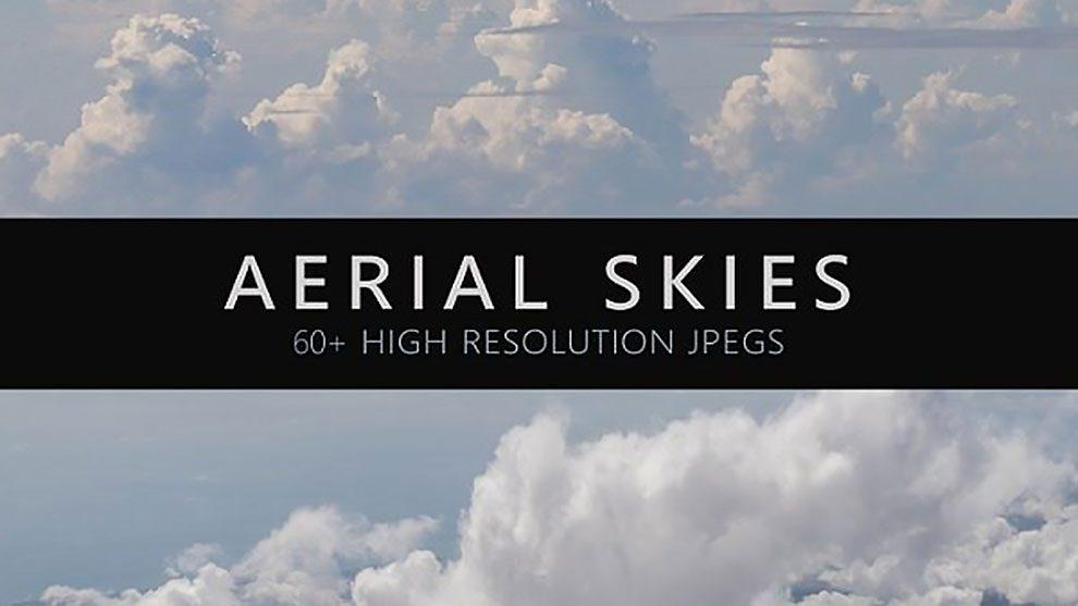 مجموعه تصاویر هوایی آسمان Aerial Skies