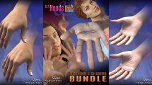 مجموعه مدل سه بعدی دست واقعی All Hands and Real Hands