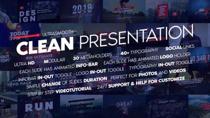 پروژه افترافکت عناوین متحرک Big Neat Presentation