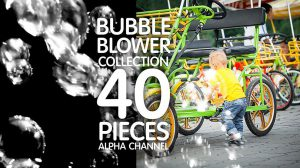 مجموعه ویدیوی موشن گرافیک حرکت حباب Bubble Blower Pack