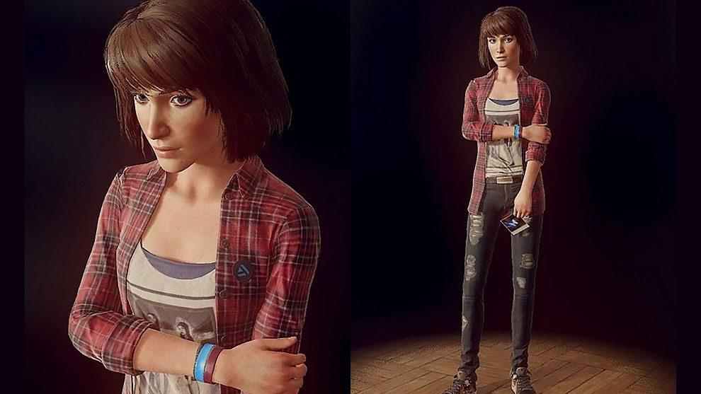 مدل سه بعدی دختر در حالت ایستاده Casual Girl Standing