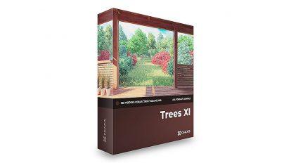 مجموعه مدل سه بعدی درخت CGAxis Models Volume 100 Trees xi