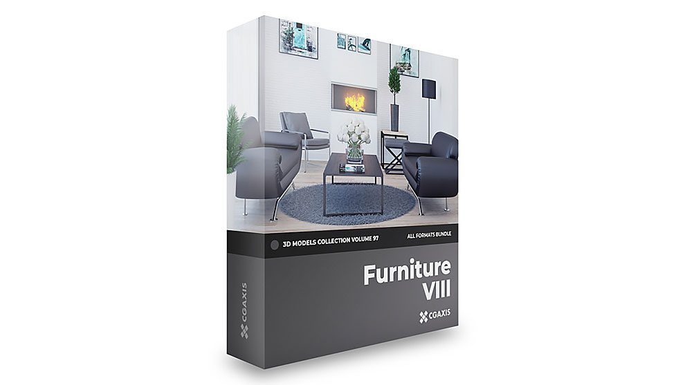 مجموعه مدل سه بعدی مبلمان CGAxis Models Volume 97 Furniture viii