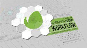 پروژه افترافکت معرفی جریان کاری شرکت Corporate Workflow