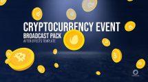 پروژه افترافکت برودکست ارز دیجیتال Cryptocurrency Event Broadcast