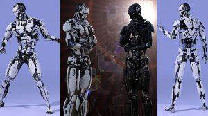 مدل سه بعدی سایبورگ Cyborg Generation for Genesis 8