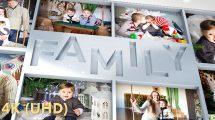 پروژه افترافکت اسلایدشو عکس خانوادگی Family Photo Slideshow