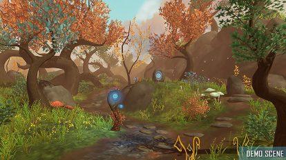 مجموعه مدل سه بعدی اجزای فانتزی جنگلی Fantasy Root Forest Props