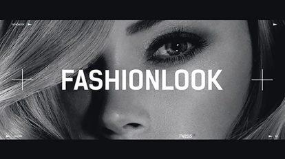 پروژه افترافکت افتتاحیه فشن Fashion Look