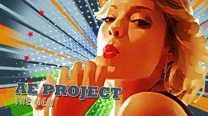 پروژه افترافکت تریلر تثبیت فریم Freeze Frame Pop Art Retro