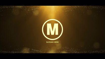 پروژه افترافکت نمایش لوگو طلایی Gold Logo Reveal