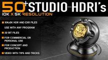 مجموعه تصاویر محیط استودیویی Studio HDRI Pack