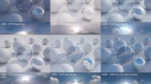 مجموعه تصاویر محیط آسمان HDRI Pack 1