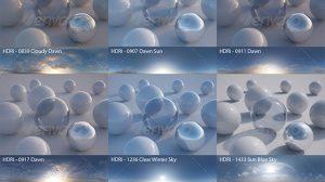 مجموعه تصاویر محیط آسمان HDRI Pack 5