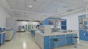 صحنه آماده سه بعدی آزمایشگاه Laboratory 3D Model