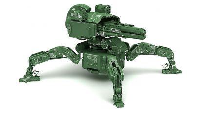 مدل سه بعدی ربات عنکبوتی تخریبگر Mech Spider Destroyer