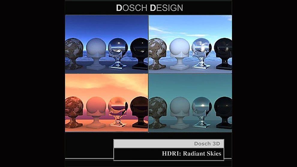 مجموعه تصاویر آسمان HDRI Radiant Skies