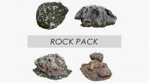 مجموعه مدل سه بعدی سنگ Rock Pack Low Poly