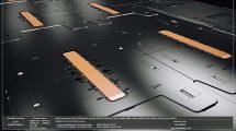 مجموعه مدل سه بعدی پنل های کف Sci-Fi Floor Panels