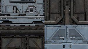 مجموعه تکسچر محیط علمی تخیلی Scifi Textures