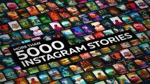 پروژه افترافکت ساخت استوری اینستاگرام Stories Generator