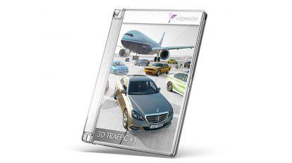 مجموعه مدل سه بعدی وسایل حمل و نقل 3D Traffic