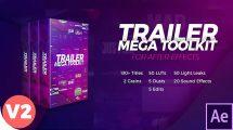 پروژه افترافکت ساخت تریلر Trailer Mega Toolkit