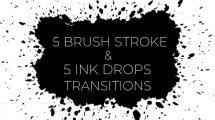 مجموعه ترانزیشن با براش نقاشی Transitions Pack