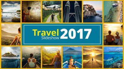 پروژه افترافکت اسلایدشو عکس سفر Travel Photo Slideshow
