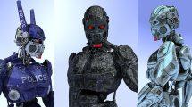 مدل سه بعدی ربات جنگنده WeaponMech